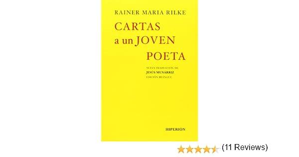 Cartas a un joven poeta (Libros Hiperión): Amazon.es: Rainer ...