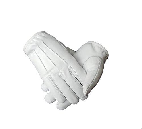 Ergonomic Cut leather driving gloves (Medium, (Medium Mens Leather)