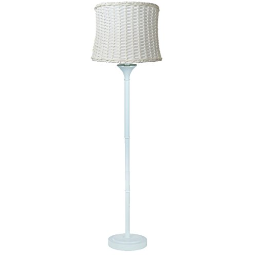 White Outdoor Floor Lamp