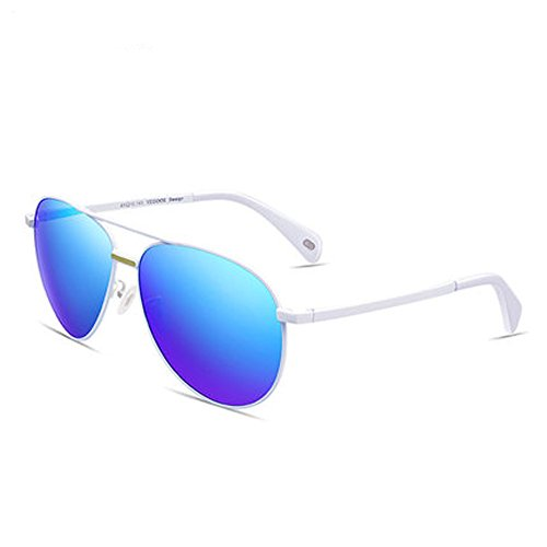 Film rond lunettes femmes soleil CH verres C visage lunettes hommes polarisées couleur ZYTYJ soleil nouvelles de ZY de et réfléchissants 1ggPEI