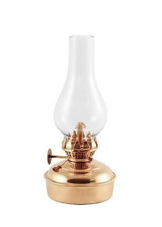 Vermont Lanterns Brass Mini Oil Lamp 6.5u0026quot; ...
