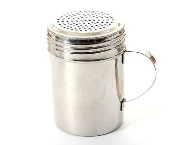 Stainless Steel Dredge/Shaker 10 Oz. DD-3659, Case of 125 by DollarItemDirect