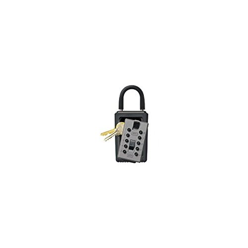 GE Security 001000 Assorted Colors Portable Pushbutton Keysafe