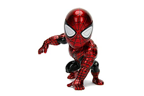 Metalfigs Jada Toys Marvel Classic Spider-Man Superior Spiderman Metals Diecast Collectible Toy Figure, 4