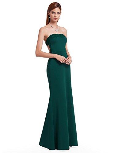 de Ever Verde de Las de Noche Elegante Verde Encaje Largo Pretty Vestidos A Oscuro mujeres07189 Oscuro 0w014rq