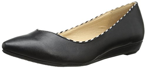 CL by Chinese Laundry Womens Shanice Pointed Toe Flat Black vER27