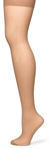 No Nonsense Panties (No Nonsense Women's Control Top Reinforced Toe Pantyhose, Tan, Plus 2)