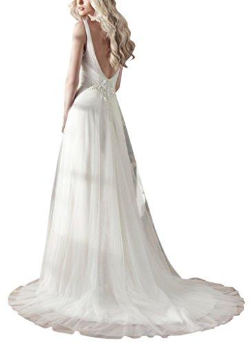 BRIDE scollo a Avorio con Abiti GEORGE da New sposa Donne V 6qdSw6P