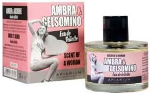APIARIUM - Amber and Jasmine Eau de Toilette - made with natural essences - hypoallergenic perfume - vegan - 100 ml