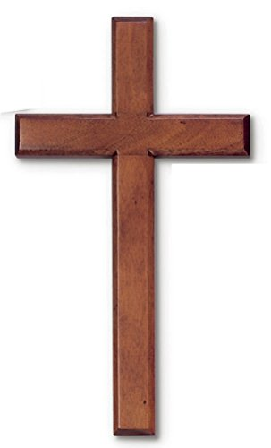wood-solid-mahogany-wall-cross-8-x-16-boxed-easy-to-hang-in-box