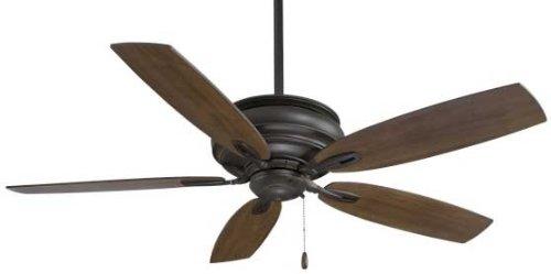 Minka-Aire F614-PI Minka Aire Ceiling Fan, Patina (Energy Star Compliant Iron)