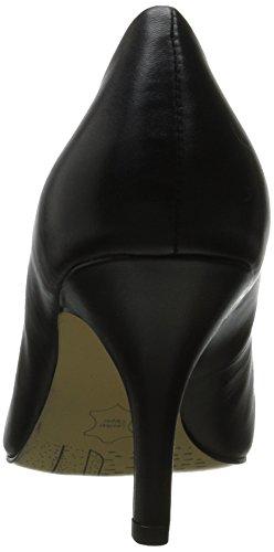 Bella Vita–Vestido de definir Bomba Cuero negro