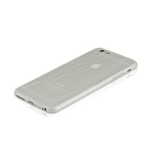 blingmything AYANO Expression Collection Rain Étui de protection pour Apple iPhone 6Plus Transparent