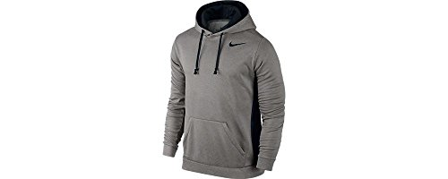 Men%27s+Nike+KO+Hoodie+3.0+Grey+Heather%2FBlack+Size+Small