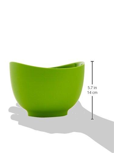 iSi Basics Flexible Silicone Mixing Bowls, Set of 3, 1 QT, 1.5 QT, 2 QT, Green (B25104) by iSi North America (Image #3)