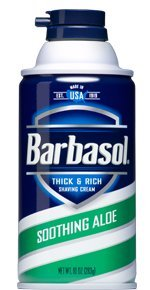 Barbasol Soothing Thick Shaving Cream