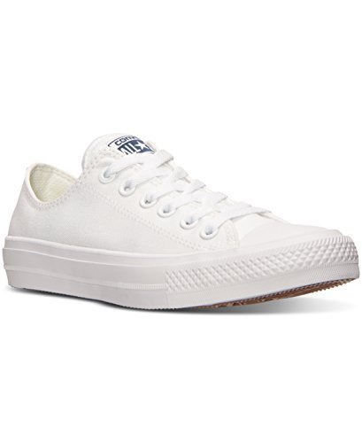 Converse Women's Chuck II Oxford Lace Up Sneakers ‑ White (Converse Oxford Sneakers)