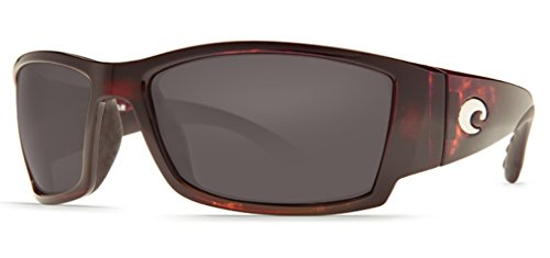 Costa Del Mar Corbina Sunglasses Tortoise / Gray 580Plastic by Costa Del Mar