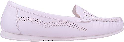 Donna / Donna Estate / Vacanza / Casual / Smart Slip On Shoes / Mocassini Bianchi