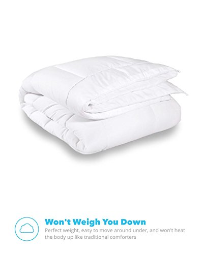 Equinox All Season White Quilted Comforter Sets
