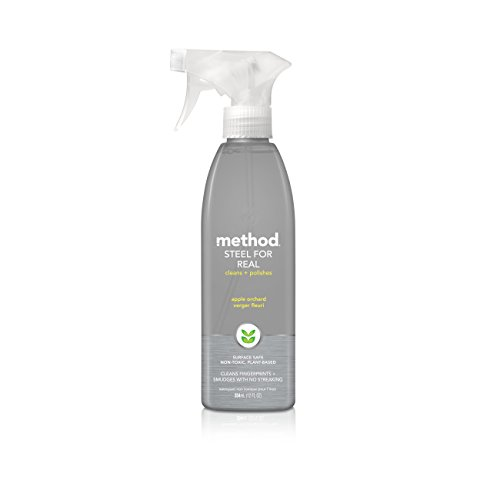 Method Stainless Steel Cleaner, Apple Orchard, 12 Ounce (Pack 6) 31Cy8pyBwGL
