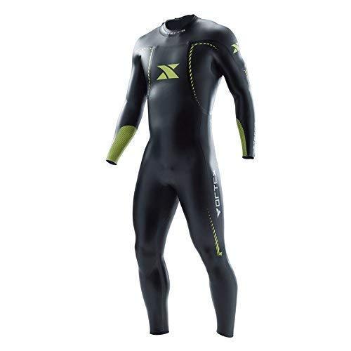 Xterra Wetsuits - Men s Vortex Triathlon Wetsuit - Full Body Neoprene Wet  Suit (3mm Thickness) (Medium Large)  7606a78d8