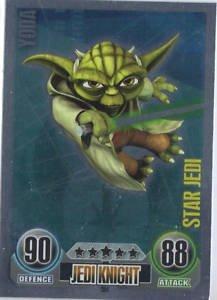 Star Wars Force Attax - Star Jedi Card - 154 Yoda