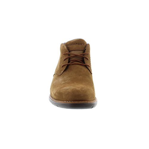 Rockport Total Motion Sport Dress Nubuck, Stivali Chukka Uomo Brown