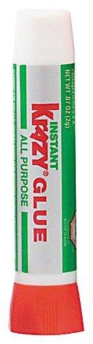 Krazy Glue KG58548R All Purpose Krazy Glue, Precision-Tip Applicator, 0.07oz