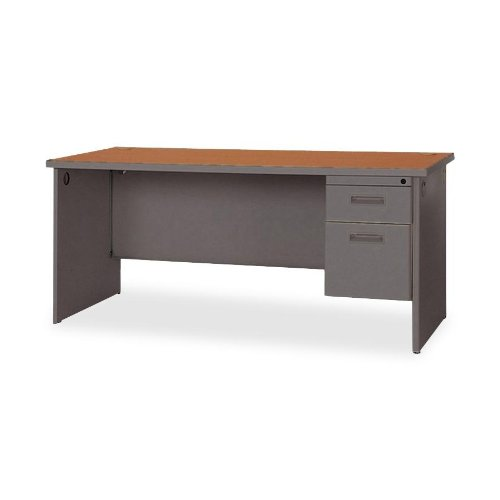 Lorell Products - Single Pedestal Credenza, 72