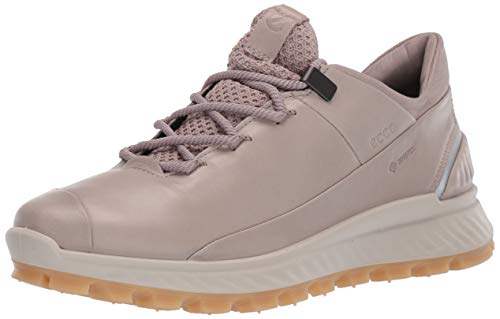 ECCO Women's Exostrike Mid Gore-TEX-Outdoor Lifestyle, Hiking Shoe, Grey Rose, 35 M EU (4-4.5 US)