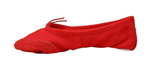 Chaussures de 24 Chaussures pratiquant chat danse chaussures 41 des Chaussures Chaussures de griffe Soft Bottom danse enfants de de Adulte pour Red de yoga de WX ballet XW 4x1Yzz