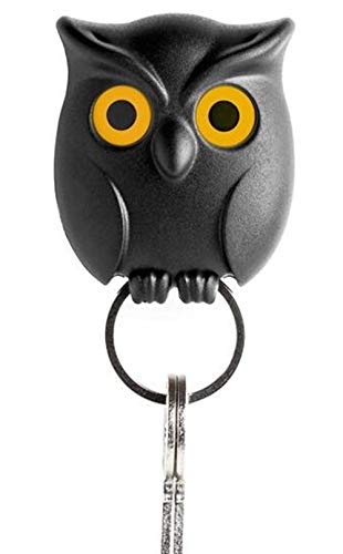 Skyseen Night Owl Magnetic Wall Key Holder - Easy to ()