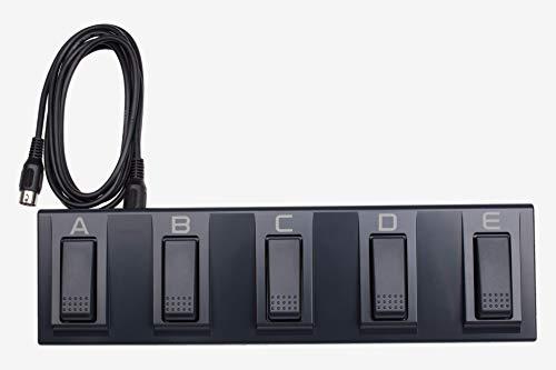 Korg 5-Switch Multi-Function Pedalboard - Korg EC5 (KREC5) (Midi Pedal Controller)