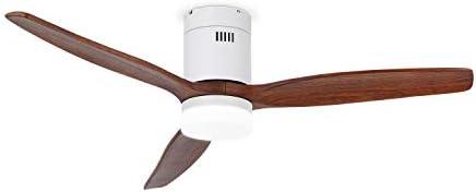Ventiladores Grandes IKOHS LIGHTCALM White - Ventilador de Techo con Luz