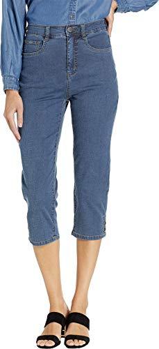 FDJ French Dressing Jeans Women's Lightweight Suzanne Capris in Denim Denim 8 20