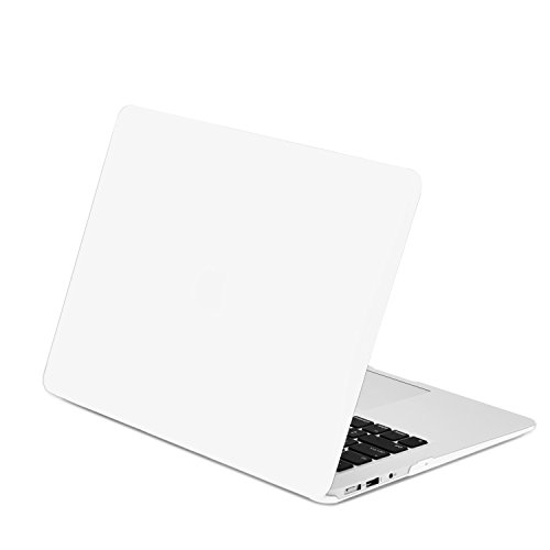 TOP CASE - Rubberized Hard Case Cover Compatible with Apple MacBook Air 13