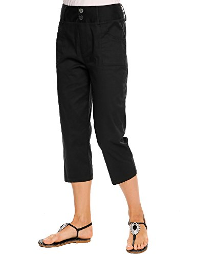 Women's Flat Front Stretch Twill Pant (Flat Pants Front Cropped)
