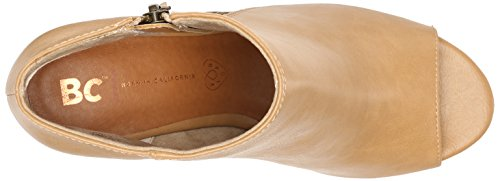 Bc Footwear Taupe Womens Pump Ribellione Delle Donne