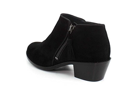Women's Technology Suede Vionic Black Orthaheel Serena Greige with qtxffRw4P