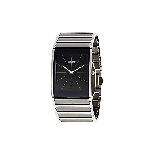 - Rado Men's R20861159 Integral Black Dial Watch