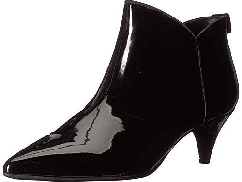 Ankle Black Boot Heel Patent - Circus by Sam Edelman Women's Keri Fashion Boot, Black Super Soft Patent, 7.5 M US