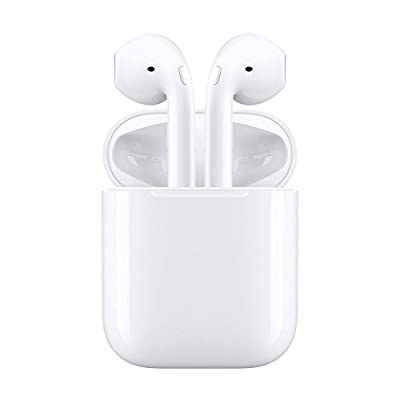 Wireless Earbuds, ASMOTIM Bluetooth Headphones Mini In-Ear Headsets Sports Earphone with Noise Cancelling Built-in Mic and Charging Case for iPhone X/8 /7/ 7 plus/ 6/ 6s plus Android, Samsung, Galaxy