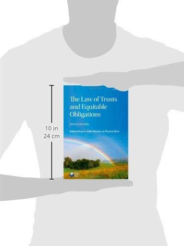 The Law of Trusts and Equitable Obligations by Oxford University Press