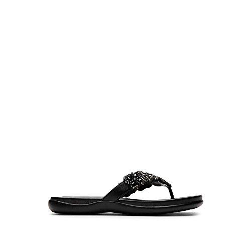 Kenneth Cole Reaction Women Shoes - Kenneth Cole REACTION Women's Glam-A Sandal,Black,8 M US