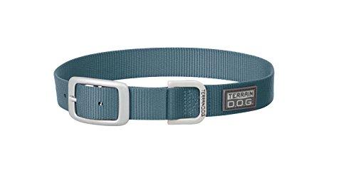 Terrain D.O.G. Nylon Single-Ply Dog Collar (Ply Single Dog Nylon Collar)