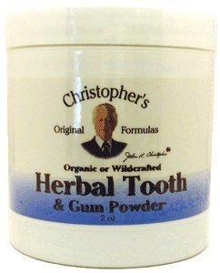 Tooth Gum Herbal + eau 2 Onces