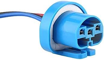 Adaptador del zócalo de la linterna Coche 9007 Adaptador del ...