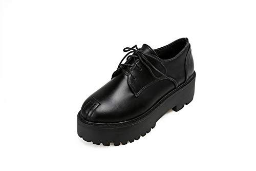 Noir Sandales AdeeSu Noir Compensées 36 5 Femme SDC05518 zx6XqR