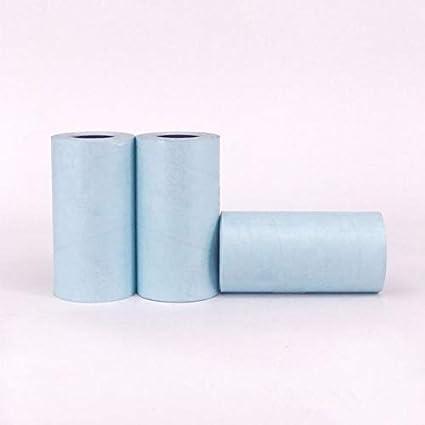Papel adhesivo imprimible duradero 57X30MM. Papel térmico ...